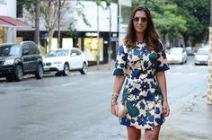 get the look – vestido florido por Fashion Hall | Fashion Hall em março 14, 2014