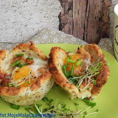 Łatwe bułki pszenne na śniadanie - Moje Małe Czarowanie - Dorota Owczarek Prosciutto, Baked Potato, Potatoes, Baking, Ethnic Recipes, Food, Bakken, Eten, Bread