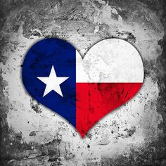 Chalky American State Of Texas Flag Precisely Painted With