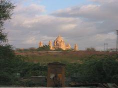 Taj Mahal from afar! #India #architecture #travel
