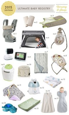 Ultimate Baby Registry: 2015 Edition. All the gear that this mama of two would have registered for knowing everything she knows now