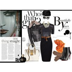 """Beautifully yours, Black outfit"" by sdiana-1 on Polyvore"
