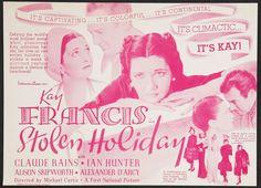1937 - STOLEN HOLIDAY - Michael Curtiz