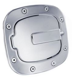 All Sales Race Style Billet Fuel Dr 7 1/2 X 6 5/8 Ring 5 3/8 X 41/2 Door -Polished - It's no coincidence that these are the best selling fuel doors on the market.Known for their smooth operation and quality finish. Choose between a push to open feature, or a locked door for added security. All are available in severalfinishes including our new brushed chrome. Crafted from solid 6061-T6 aircraft aluminum. Installation is simple and no drilling is required for most applications.Fits: Toyota…