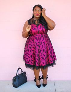 Musings of a Curvy Lady, Fashion Blogger, Plus Size Fashion, Vintage Inspired, Tulle, Petticoat, OOTD, Women's Fashion, ShoeDazzle
