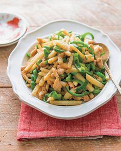 【特集】伝説の家政婦・志麻さんの毎日つくりたいレシピ<新刊発売記念> | ESSEonline(エッセ オンライン) Pasta Salad, Green Beans, Dinner, Vegetables, Cooking, Ethnic Recipes, Easy, Yahoo, Foods