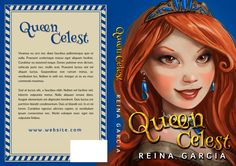 Queen Celest - Middle-Grade / Young Adult Premade Book Cover For Sale at Beetiful Book Covers