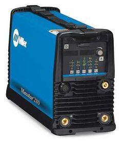 MILLER ELECTRIC 907539 Tig Welder, AC/DC, 1 to 280A, Maxstar