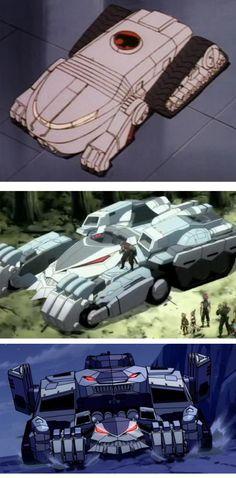 PIPOCA COM BACON - Seriados que estou assistindo: Thundercats (2011) - ThunderTank_3 modelos #PipocaComBacon