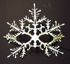 How to make Leather Leaf Jewelry and Mask Snow Queen Costume, How To Make Leather, Leather Mask, Leather Leaf, Leaf Jewelry, Ice Queen, White Christmas, Christmas Ideas, Christmas Crafts