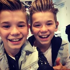 Omg they r like always cute no matter what age My True Love, My Love, I Go Crazy, Cute Pictures, Twins, Idol, Mac, Norway, Gemini