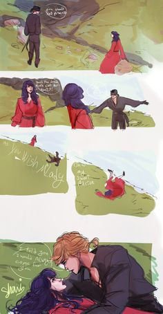 "shaniartist: ""miraculous princess bride AU. """