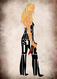 Buffy the Vampire Slayer Inspired Buffy Poster by GeekMyWalL, $25.00