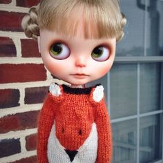 OOAK Handmade Blythe Doll Custom By White Polka Star Dancer Scalp Licca