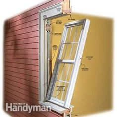 If you have basic tools and skills you can install your own vinyl replacement windows and save hundreds of dollars in installation charges—for each window.