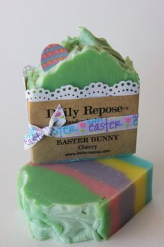 EASTER BUNNY Cherry Soap Scented Limited Edition by DailyRepose, $5.75