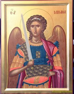 Orthodox Christian Icon of Saint Michael - Bing Images Byzantine Icons, Byzantine Art, Religious Icons, Religious Art, Church Icon, Russian Icons, Best Icons, Archangel Michael, Art Icon