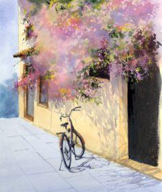 Geoff Kersey Bike & Bourganvilla