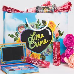 So excited for my new goodies. Use my link to get $5 off your first purchase on limecrime.com! XO