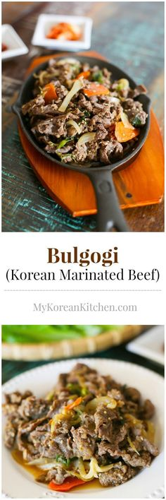 How to make easy, delicious and authentic Bulgogi (Korean Marinated beef) from scratch   MyKoreanKitchen.com