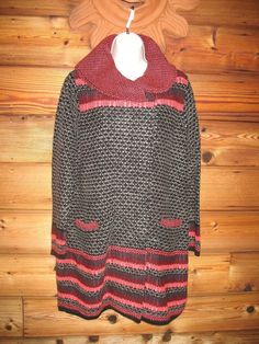 Per Una Size Small Marks and Spencer Wool Blend Long Cardigan Sweater #PerUna #Cardigan