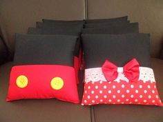 Mickey e Minnie | COJINES | Pinterest