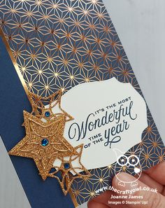 The Crafty Owl | The daily blog of Joanne James Independent Stampin' Up! Demonstrator -- joanne@thecraftyowl.co.uk Christmas Owls, Merry Christmas To All, Stampin Up Christmas, Christmas Cards, Specialty Paper, Happy Independence Day, Winter Cards, Paper Pumpkin, Box Design