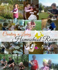 Creating a Living Homeschool Room