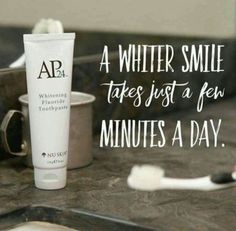 The best whitening Ive ever tried no peroxides fluoride dentists approve of it. Who doesnt want whiter teeth ? Ap 24 Whitening Toothpaste, Whitening Fluoride Toothpaste, Teeth Whitening Remedies, Natural Teeth Whitening, Smile Teeth, Teeth Care, Skin Care, Stained Teeth, Teeth Bleaching