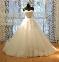Vestido de noiva princesa Top Beading Vestido de noiva Vestido de noiva Custom made em Vestidos de noiva de Casamentos e Eventos no AliExpress.com | Alibaba Group