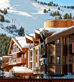 """8 Extraordinary Hotels to Visit  """"A five-star luxury ski resort that just opened in the French Alps, this resort boasts some of the finest views and access to the Three Valleys ski area,"""" Batkin says."""