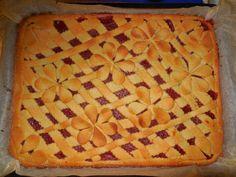 Jahodovo-rebarborový koláč :)