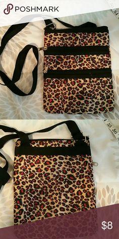 Purse Leppard 3 zipper purse Bags Mini Bags
