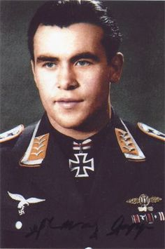 ✠ Franz Gapp (8 July 1919) RK 19.09.1943 Oberfeldwebel Flugzeugführer i. d. 8./KG 6, pin by Paolo Marzioli