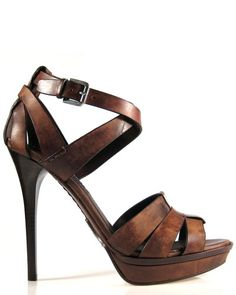 Too bad it's not available in my size. :( Ralph Lauren Collection Jenica Calfskin Sandal