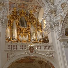 Organ, St. Stephan's Cathedral, Passau, Germany