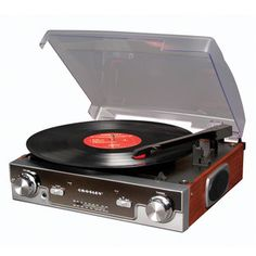 Crosley Tech Turntable now featured on Fab.