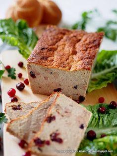 pasztet-z-gesiny-z-zurawina Banana Bread, Sandwiches, Desserts, Food, Tailgate Desserts, Deserts, Essen, Postres, Meals