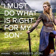 Lagertha (Katheryn Winnick) in #Vikings (#HistoryChannel TVserie)