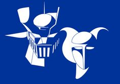 Mazinger Z and Aphrodite A. Yours at http://www.spreadshirt.com/mazinger-z-aphrodite-a-C3376A10619472