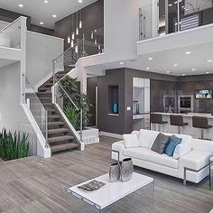 Modern Mansion by @house.of.grey