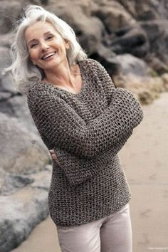 women with grey hair - Google Search