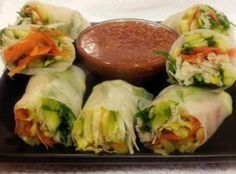 Vegetarian Fresh Spring Rolls Recipe