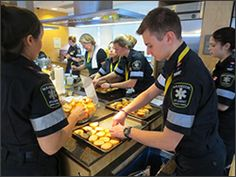 Centennial College's Paramedic students put their hearts into cooking at Ronald McDonald House to help families in need. Paramedic Student, Centennial College, Ronald Mcdonald House, Families, Students, Hearts, Community, Cooking, Projects