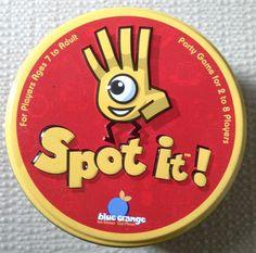 Reglas y evaluación del juego de cartas Spot It!.