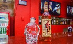Pirates Skull - Pirates Seafood Restaurant and Karaoke Bar Seafood Restaurant, Grubs, Karaoke, Whiskey Bottle, Pirates, Restaurants, Skull, Bar, The Originals