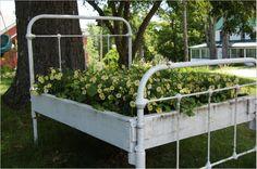 Bed Frame Planter Box