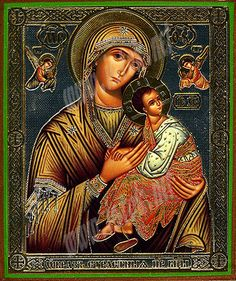 Byzantine icons, Greek icons, Russian icons - Religious icons: Theotokos of the Passion