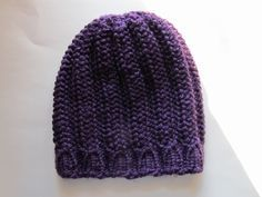 This Mama Knits: 2 New Hats and a Pattern (Knitting Loom Patterns)