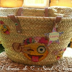 Nueva cesta con emoticonos del whastwapp!!